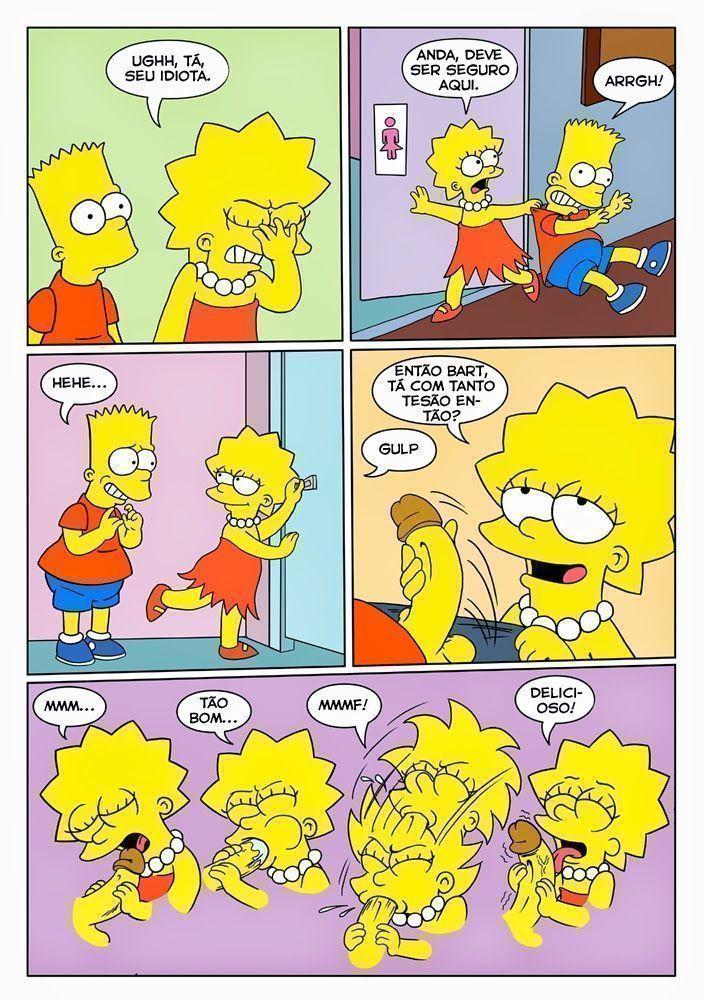 Bart e lisa porno