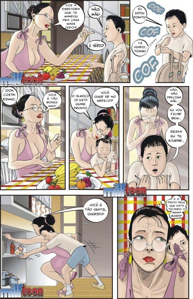 Mãe e filho transando 02