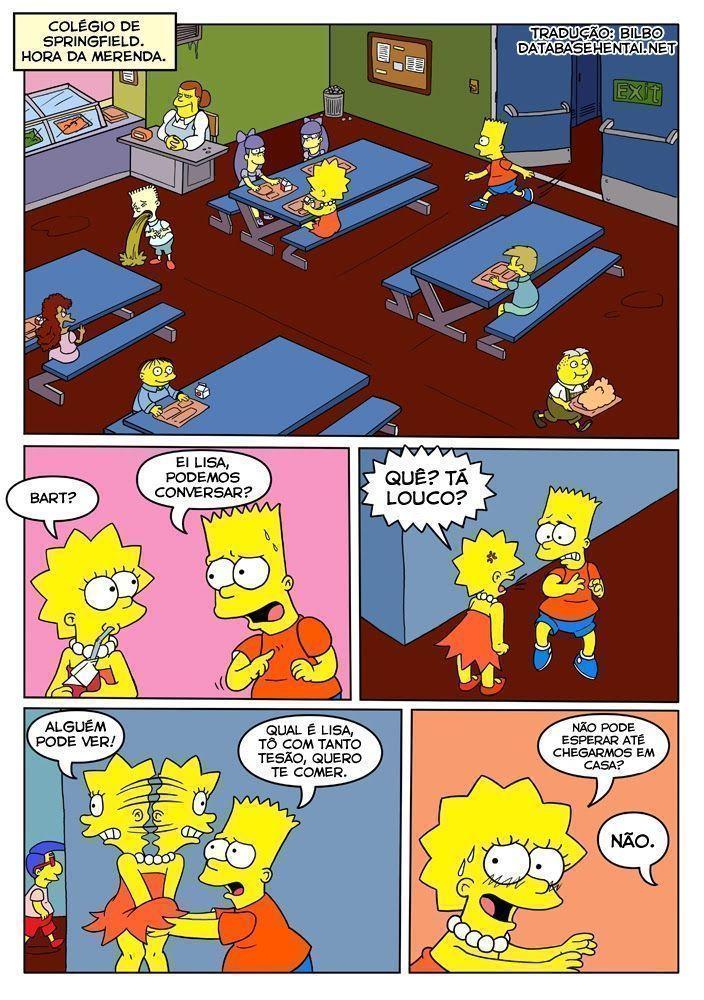 Os Simpsons porno