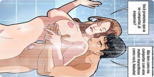 Porno em quadrinhos eróticos minha professora gostosa 2 Pt01