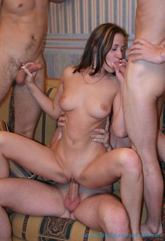 sexo grupal camslut