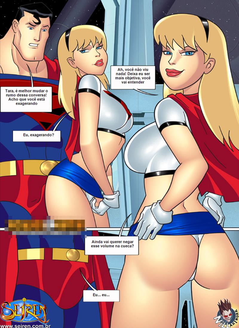 Liga da justica porn