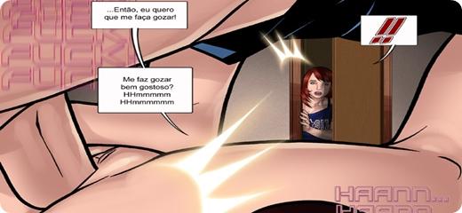 Aventuras Eróticas Da Lia 7 Parte 02 – Guinho é Flagrado Pela Tia Gostosa