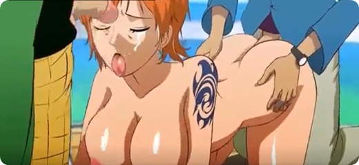 Vídeo Porno Anime One Piece Nami Nua Fazendo Sexo Gostoso