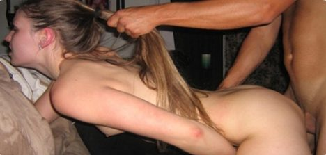 Conto ilustrado em gifs de sexo com a sogra viúva gostosa