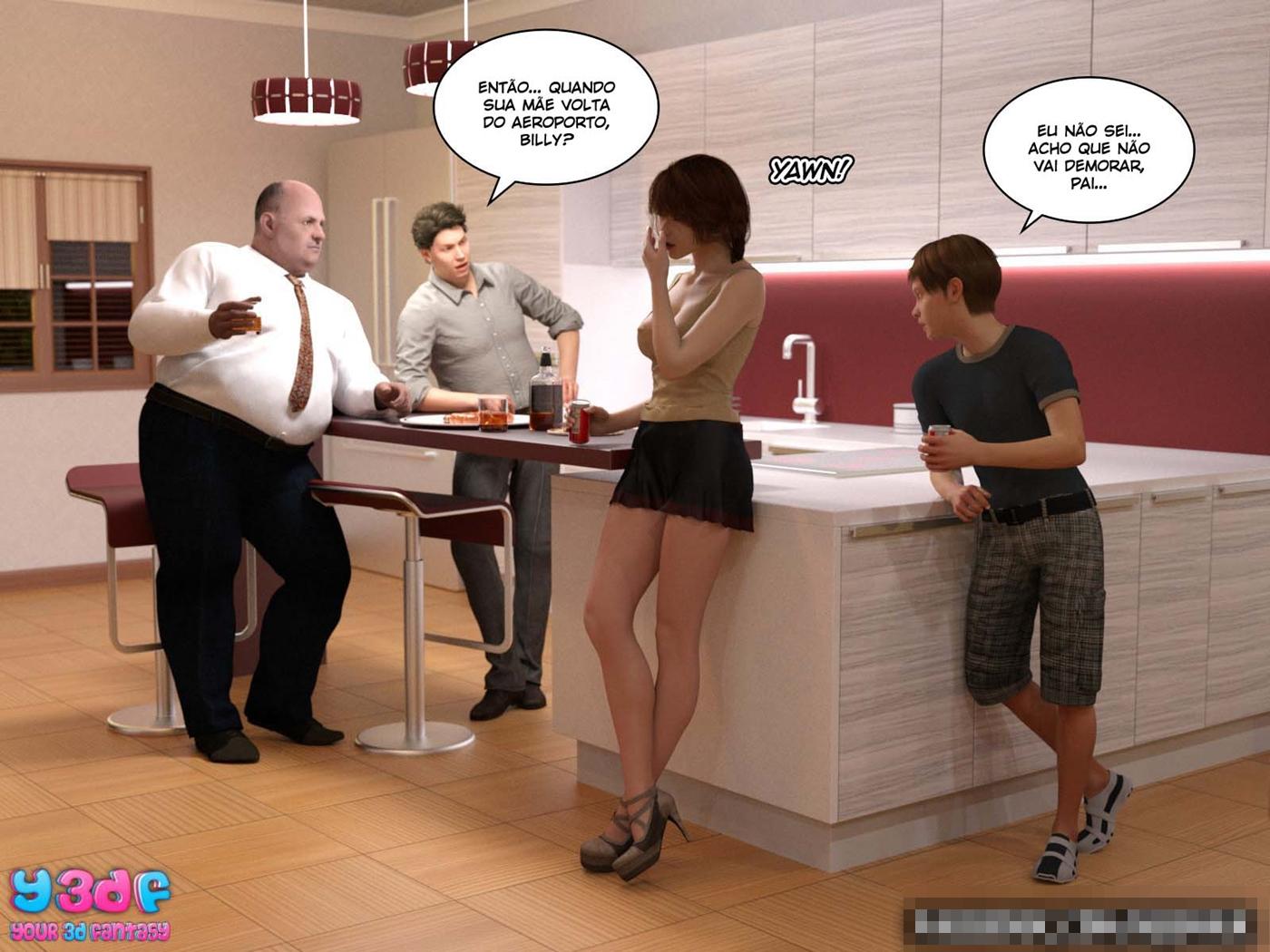 quadrinhos de sexo Bad Boss 29