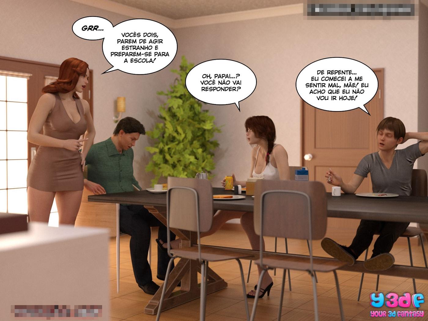 quadrinhos de sexo Bad Boss 3