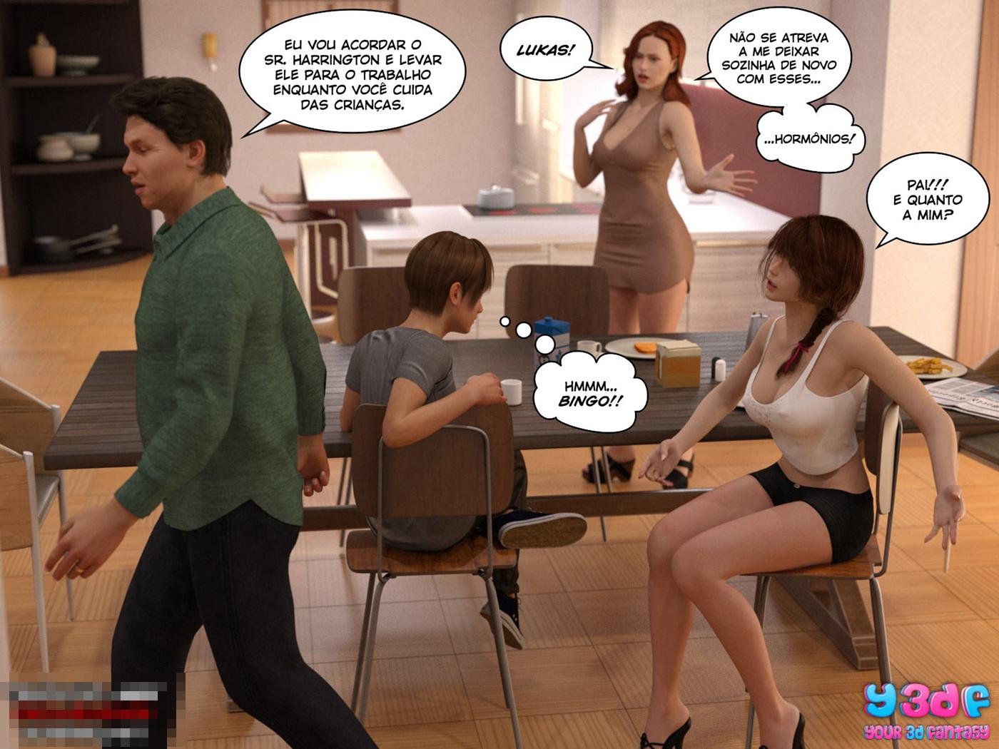 quadrinhos de sexo Bad Boss 5