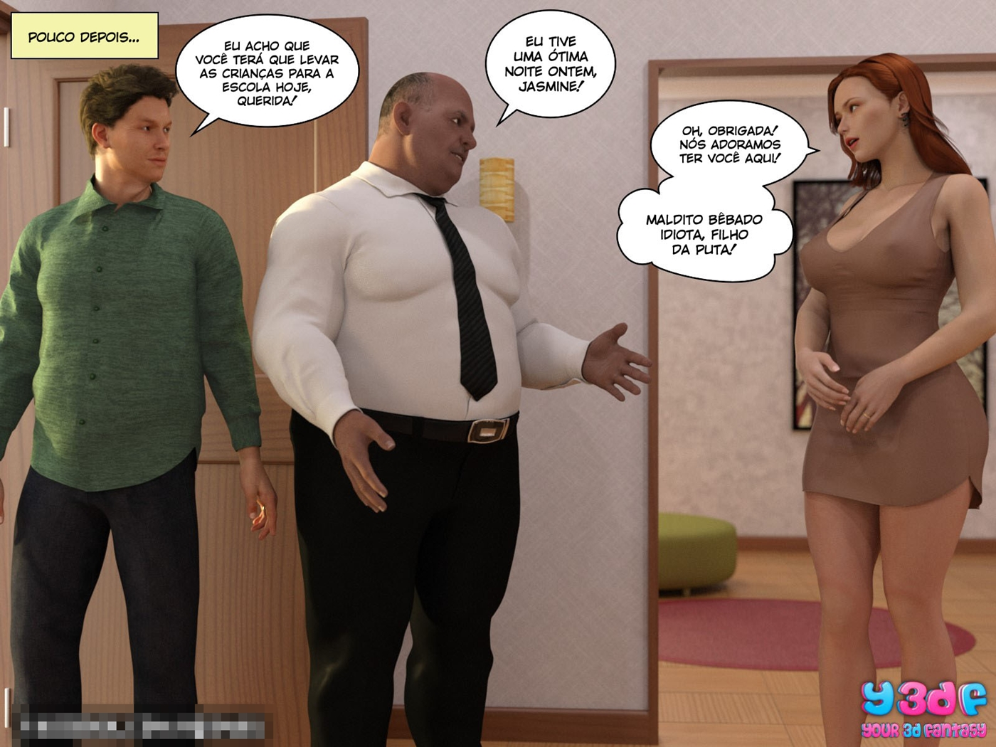 quadrinhos de sexo Bad Boss 6
