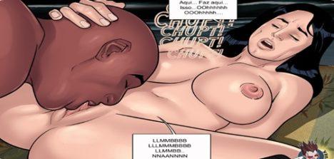 Quadrinhos eróticos Paralelas 2 – Marta coroa casada gostosa