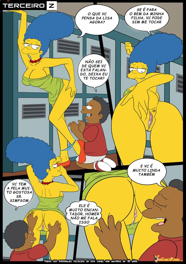 os simpsons el bravucon 7