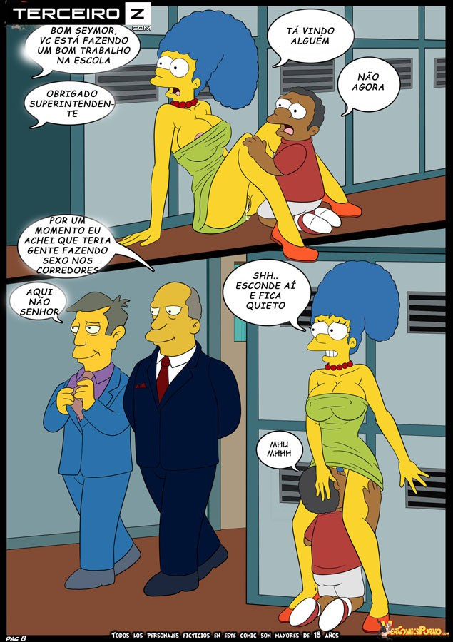 os simpsons el bravucon 9