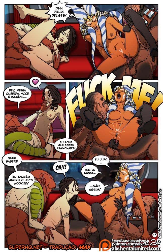 Star Wars Sexo em quadrinhos 14