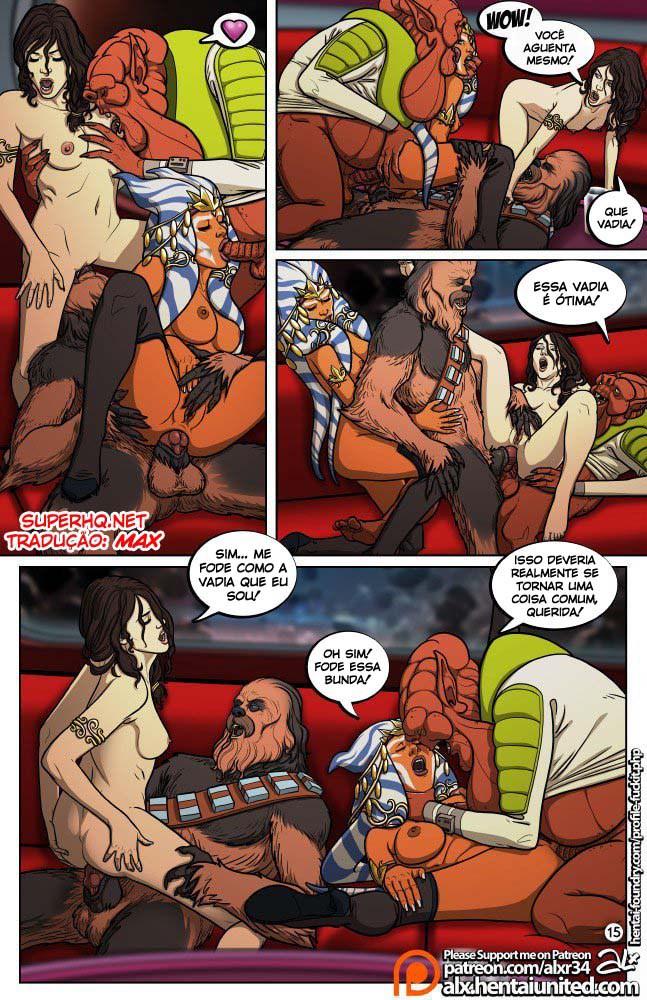 Star Wars Sexo em quadrinhos 16