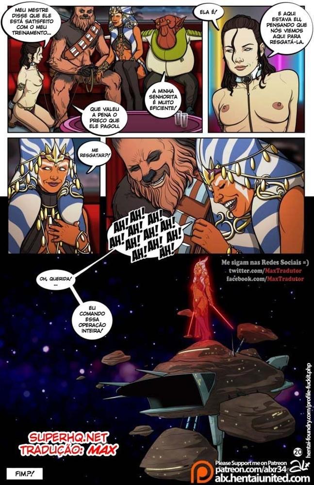 Star Wars Sexo em quadrinhos 20