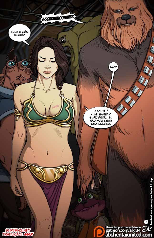 Star Wars Sexo em quadrinhos 3