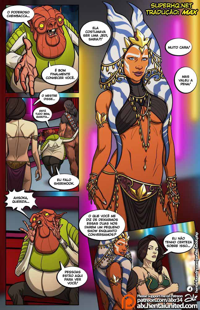 Star Wars Sexo em quadrinhos 5