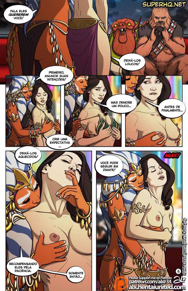 Star Wars Sexo em quadrinhos 7
