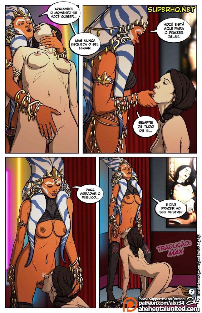 Star Wars Sexo em quadrinhos 8