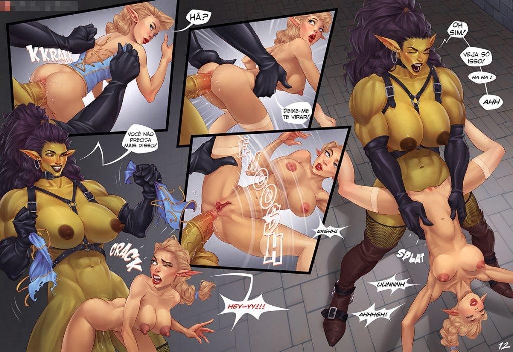 quadrinhos de sexo com orcs 12