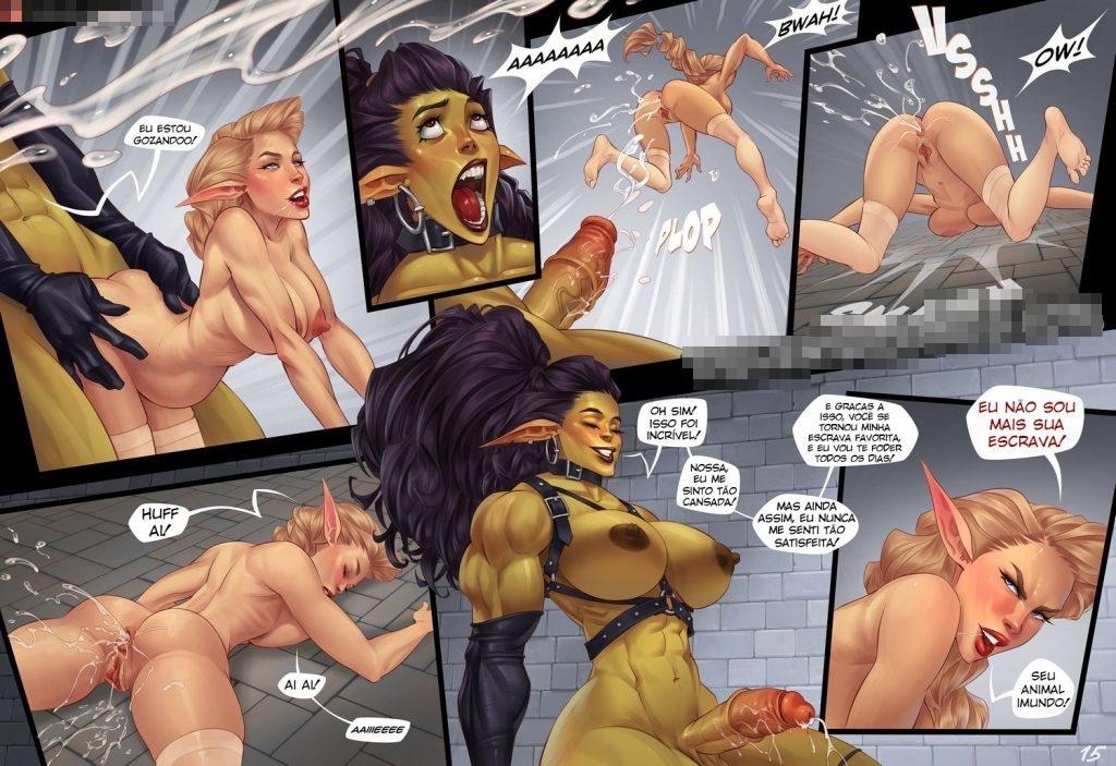 quadrinhos de sexo com orcs 15