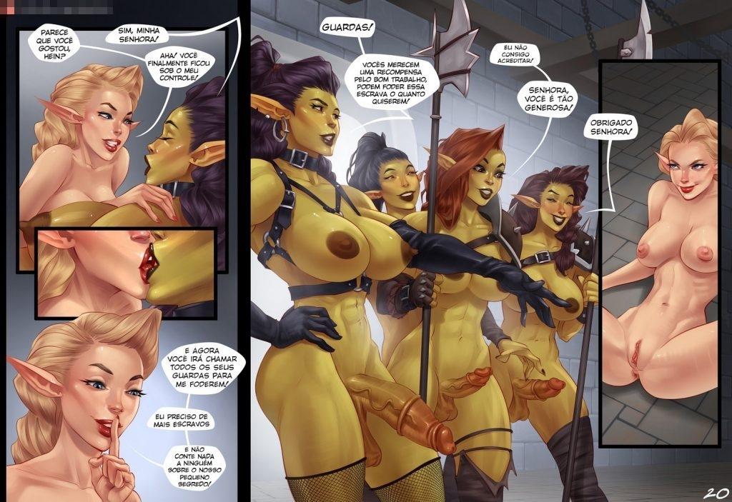 quadrinhos de sexo com orcs 19