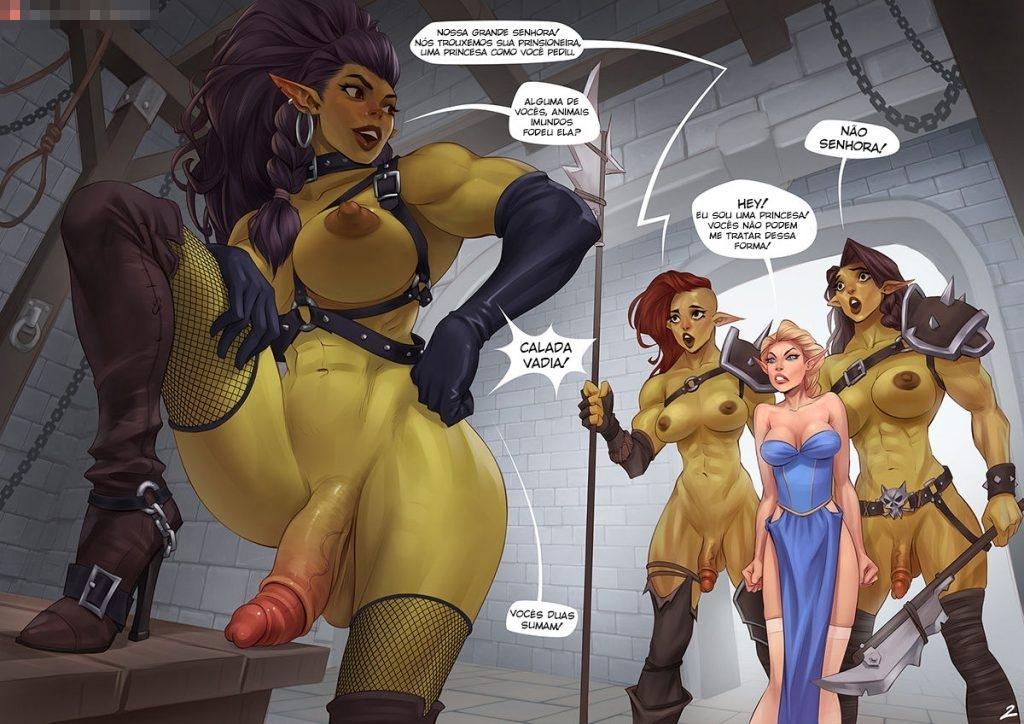 quadrinhos de sexo com orcs 2