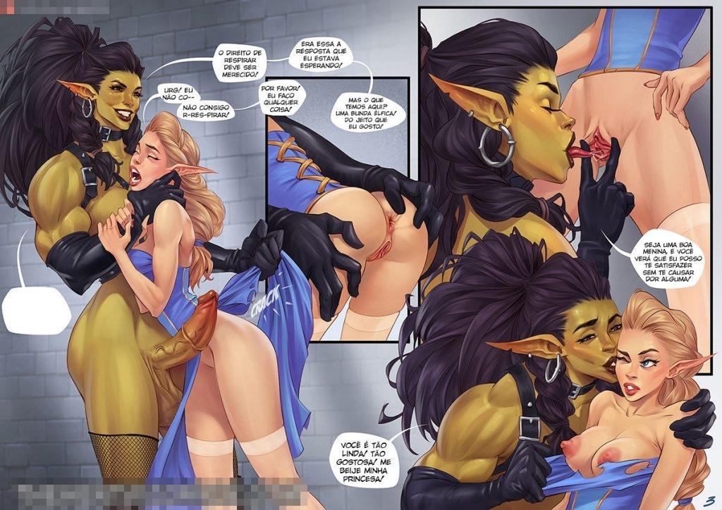 quadrinhos de sexo com orcs 3