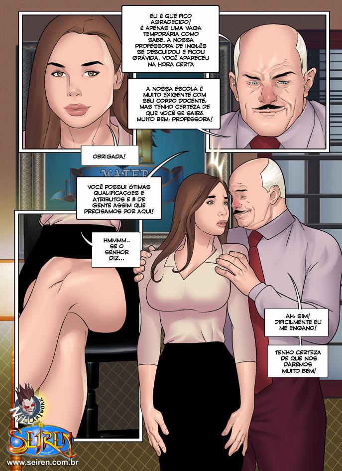 sexo em quadrinhos colegiais 3
