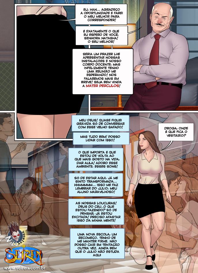 sexo em quadrinhos colegiais 4