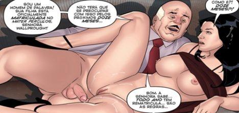 Quadrinhos de sexo colegiais capítulo 02 – A mãe gostosa