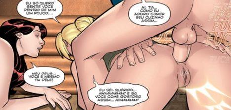 Quadrinhos eroticos paralelas 6 – Noelle traindo marido corno