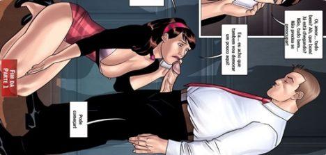 Quadrinhos de sexo a esportista 03 – A nova secretária gostosa