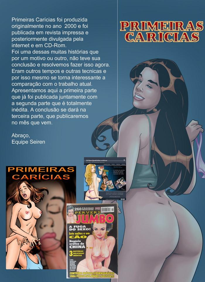 Quadrinhos de sexo primeiras carícias 2