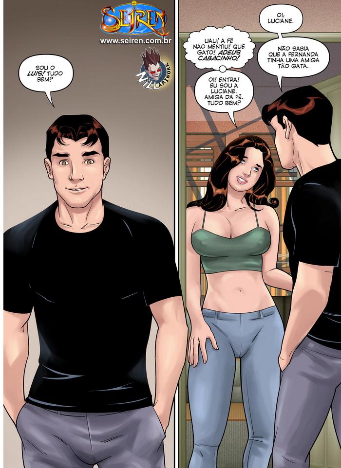 Quadrinhos de sexo primeiras carícias 25