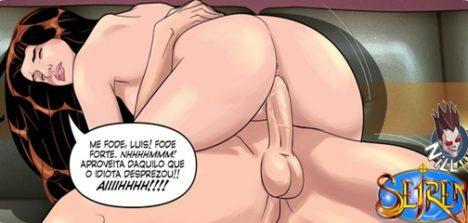 Quadrinhos de sexo primeiras carícias capítulo 01 e 02
