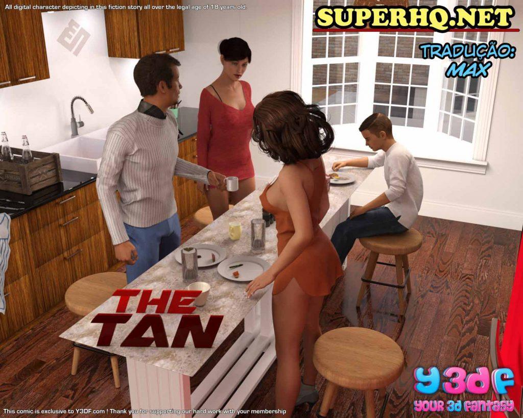 Quadrinhos de sexo The Tan y3DF 1