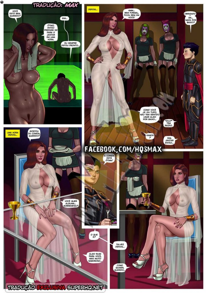 Quadrinhos porno Talia Milftoon 9