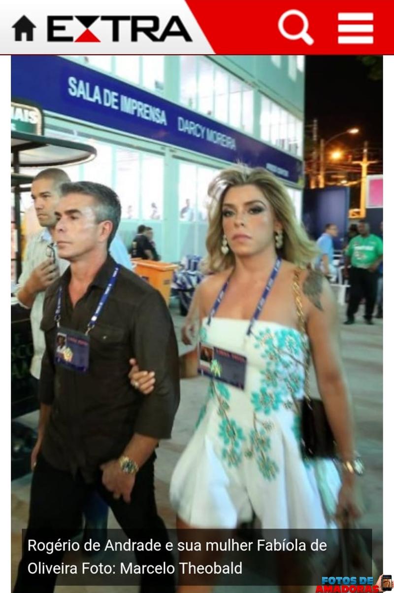 fotos e videos da mulher do bicheiro Rogerio Andrade transando 5