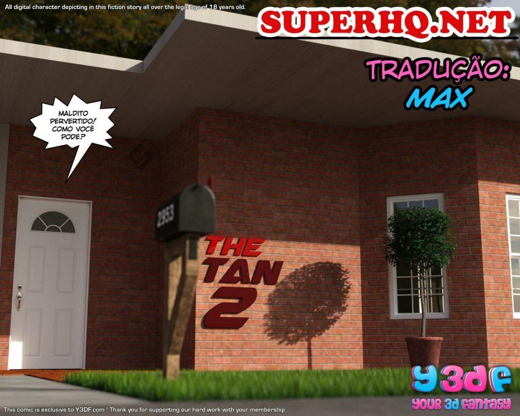 quadrinhos eróticos The Tan 1