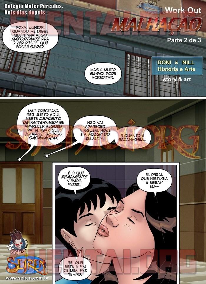 Quadrinhos eroticos malhação parte02 1