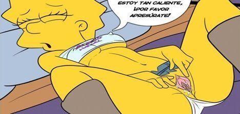 Simpsons e Futurama quadrinhos porno grátis parte 02