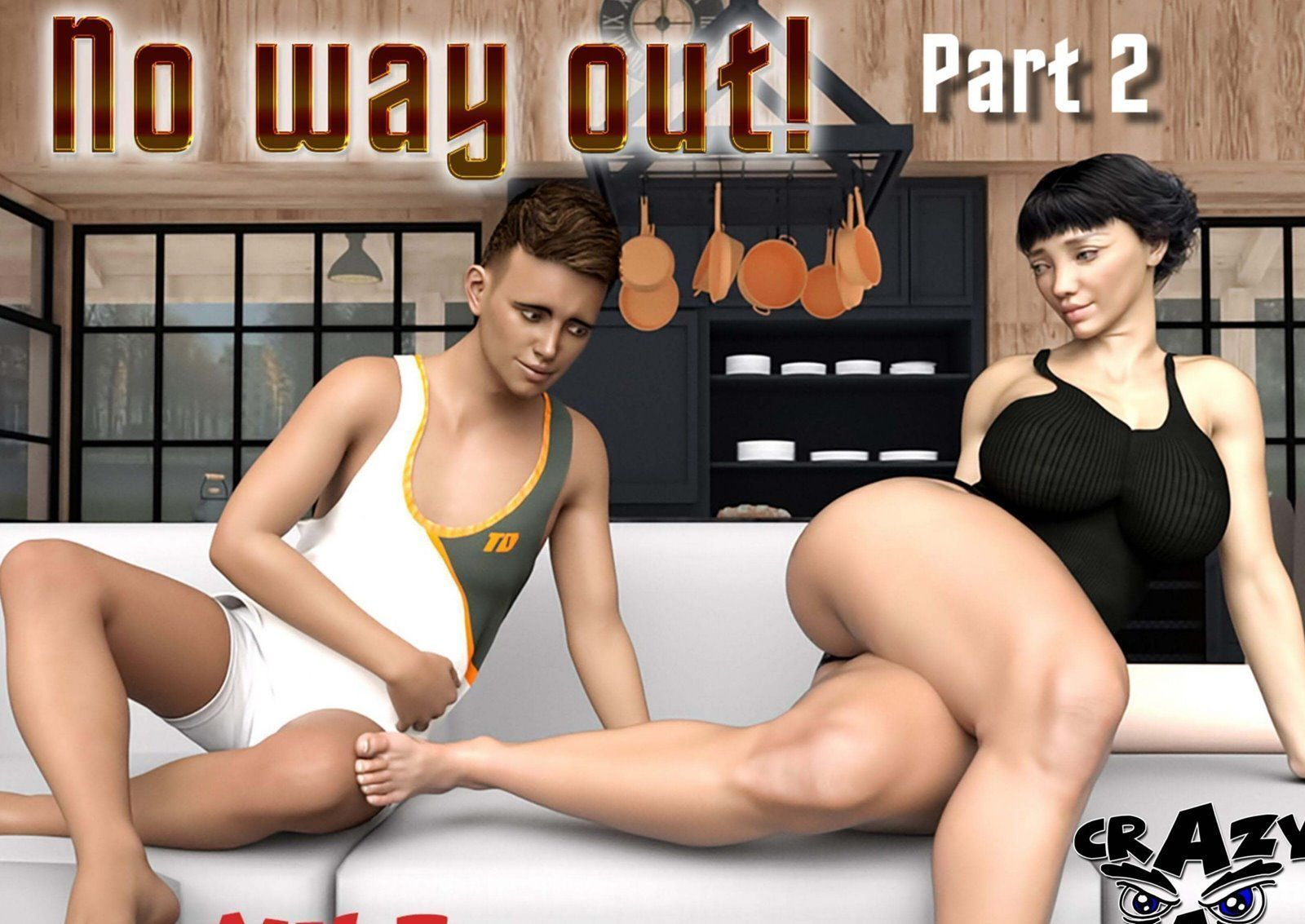 quadrinhos de sexo No Way Out 1