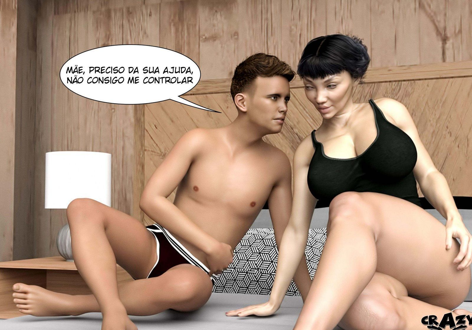 quadrinhos de sexo No Way Out 47
