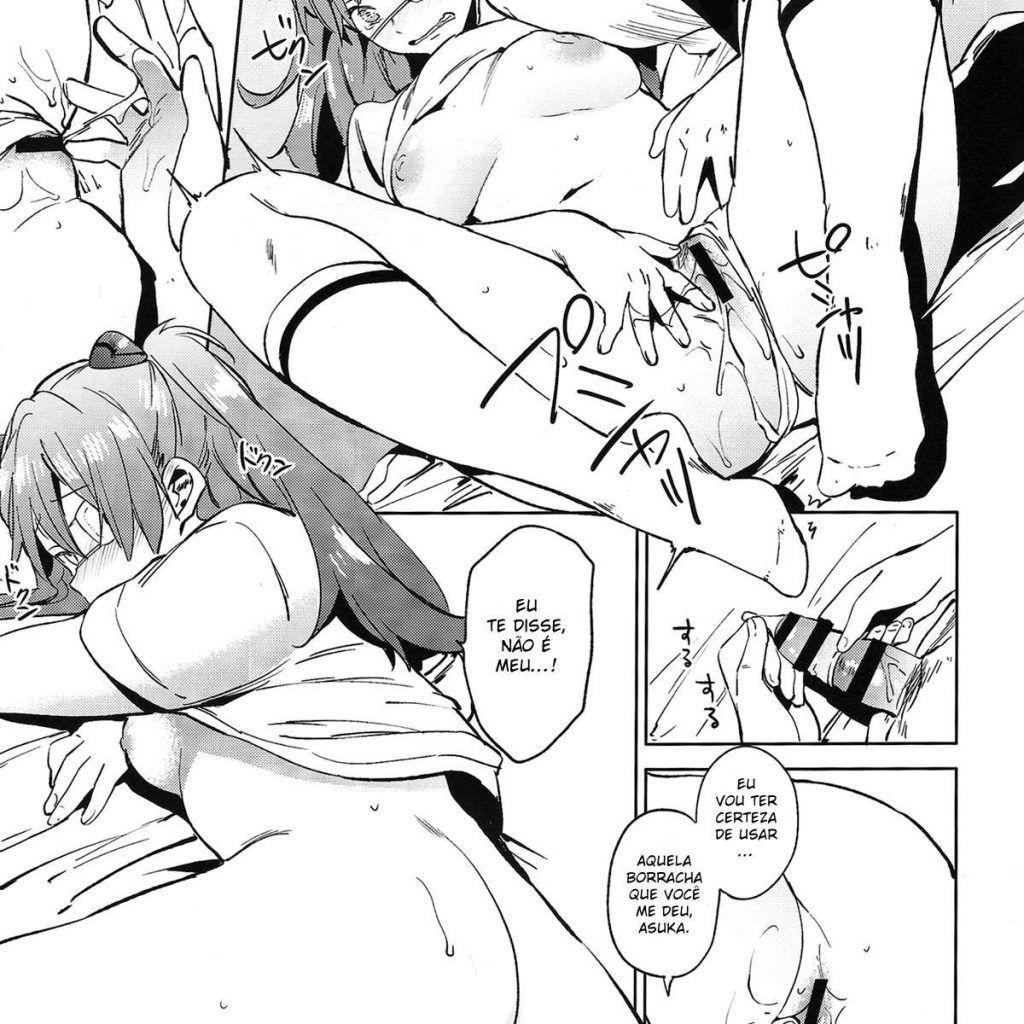 sexo em quadrinhos Asuka 19