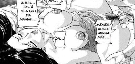 Melhor foda com mamãe incesto em quadrinhos eróticos